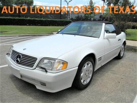 1995 Mercedes-Benz SL-Class for sale at AUTO LIQUIDATORS OF TEXAS in Richmond TX