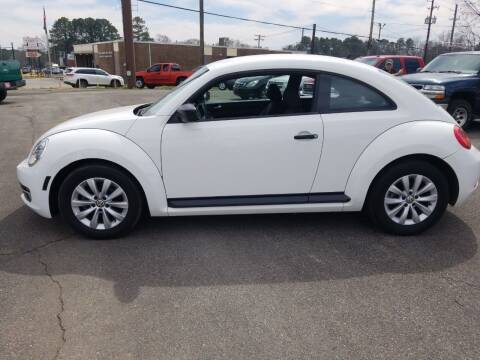 2014 Volkswagen Beetle for sale at Prospect Motors LLC in Adamsville AL