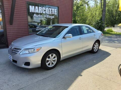 2011 Toyota Camry for sale at Marcotte & Sons Auto Village in North Ferrisburgh VT
