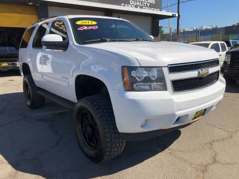 2011 Chevrolet Tahoe for sale at BEST DEAL MOTORS  INC. CARS AND TRUCKS FOR SALE in Sun Valley CA