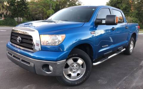 2008 Toyota Tundra for sale at LUXURY AUTO MALL in Tampa FL