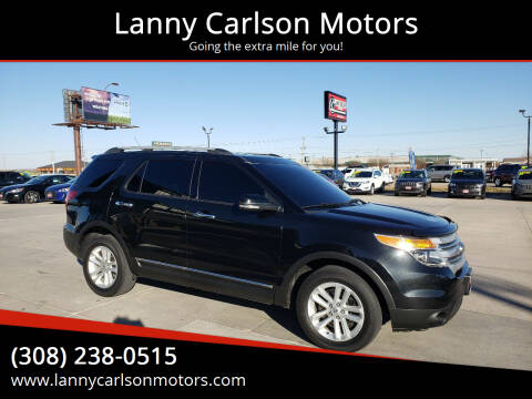 2014 Ford Explorer for sale at Lanny Carlson Motors in Kearney NE