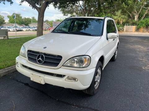 2002 Mercedes-Benz M-Class for sale at Florida Prestige Collection in Saint Petersburg FL