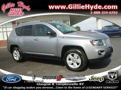 2017 Jeep Compass for sale at Gillie Hyde Auto Group in Glasgow KY
