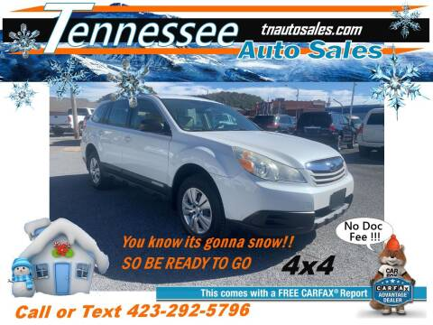 2010 Subaru Outback for sale at Tennessee Auto Sales in Elizabethton TN