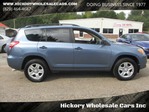 2009 Toyota RAV4 for sale at Hickory Wholesale Cars Inc in Newton NC