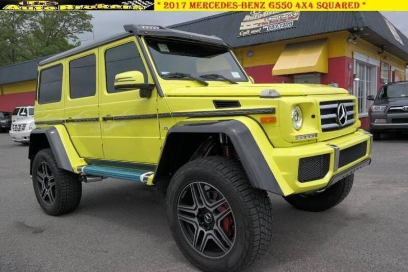 2017 Mercedes-Benz G-Class for sale at L & S AUTO BROKERS in Fredericksburg VA