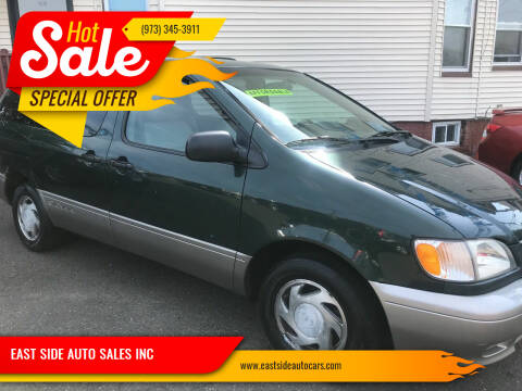 2001 Toyota Sienna for sale at EAST SIDE AUTO SALES INC in Paterson NJ