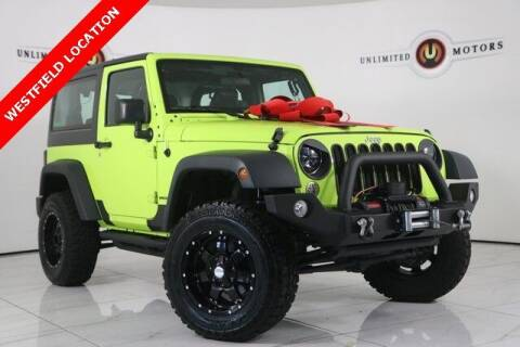 2016 Jeep Wrangler for sale at INDY'S UNLIMITED MOTORS - UNLIMITED MOTORS in Westfield IN