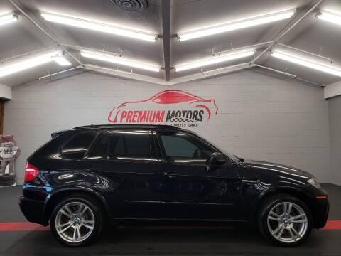 2010 BMW X5 M for sale at Premium Motors in Villa Park IL