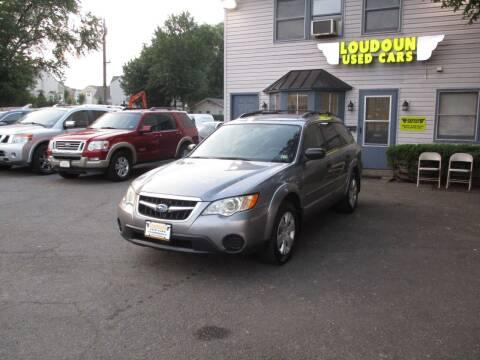 2009 Subaru Outback for sale at Loudoun Used Cars in Leesburg VA
