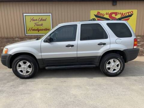 2004 Ford Escape for sale at BIG 'S' AUTO & TRACTOR SALES in Blanchard OK