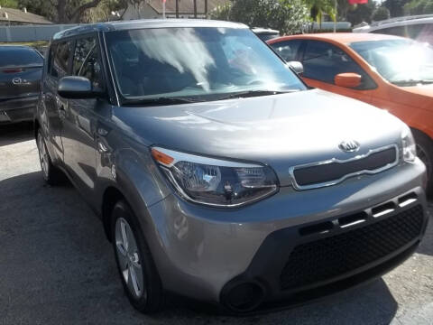2014 Kia Soul for sale at PJ's Auto World Inc in Clearwater FL