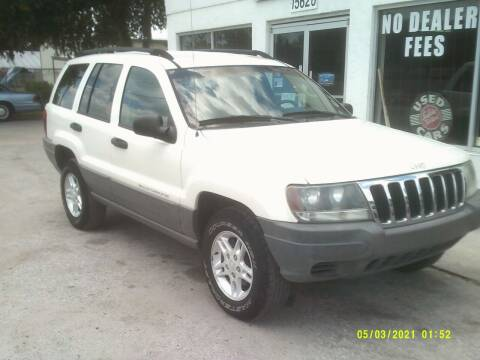 2002 Jeep Grand Cherokee for sale at ROYAL MOTOR SALES LLC in Dover FL