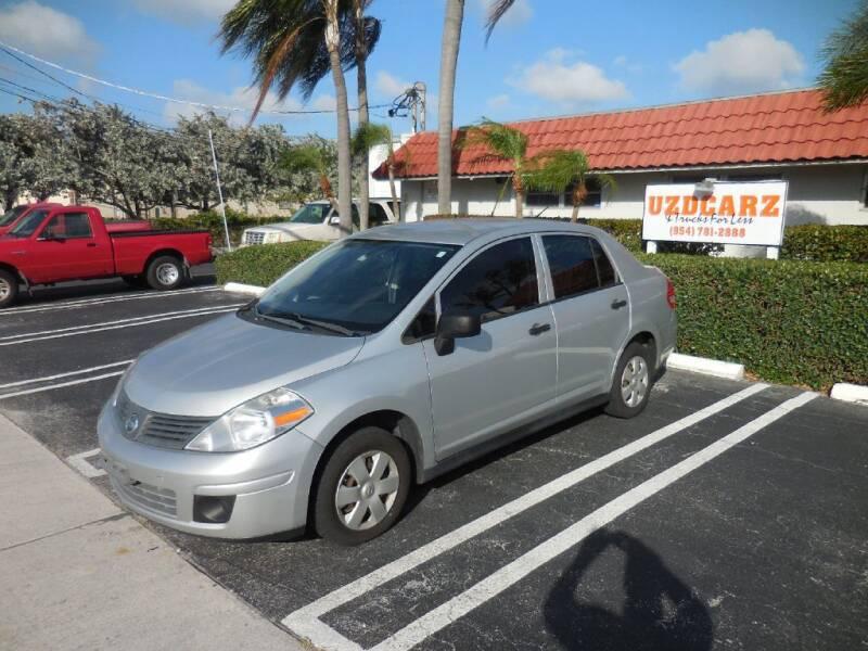 2010 Nissan Versa for sale at Uzdcarz Inc. in Pompano Beach FL