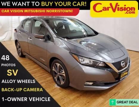 2019 Nissan LEAF for sale at Car Vision Mitsubishi Norristown in Trooper PA