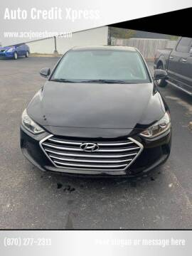 2017 Hyundai Elantra for sale at Auto Credit Xpress - Jonesboro in Jonesboro AR