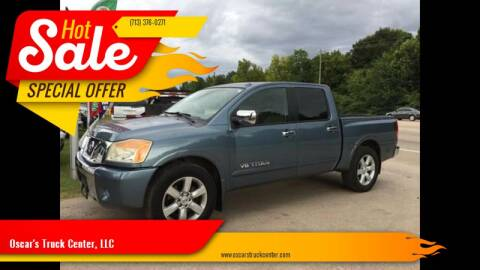 2010 Nissan Titan for sale at Oscar's Truck Center, LLC in Houston TX