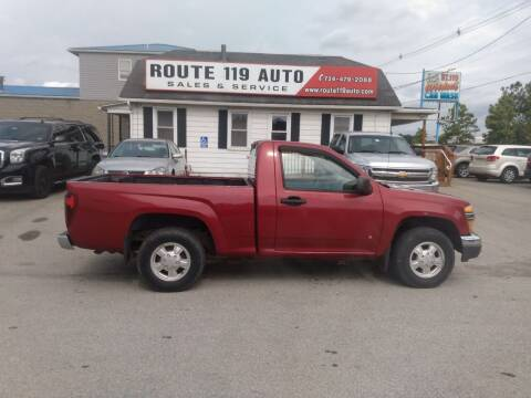 2006 GMC Canyon for sale at ROUTE 119 AUTO SALES & SVC in Homer City PA