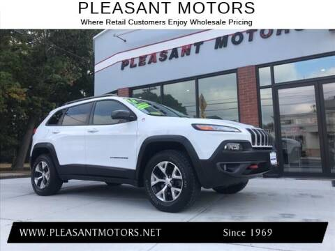 2018 Jeep Cherokee for sale at Pleasant Motors in New Bedford MA