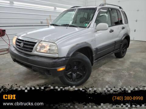 2001 Suzuki Grand Vitara for sale at CBI in Logan OH