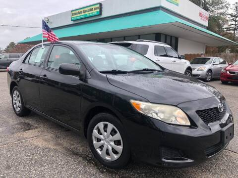 2010 Toyota Corolla for sale at Action Auto Specialist in Norfolk VA