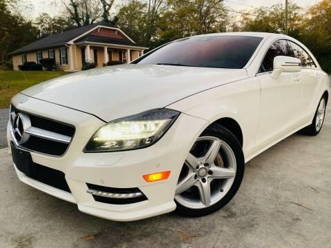 2014 Mercedes-Benz CLS for sale at Cobb Luxury Cars in Marietta GA