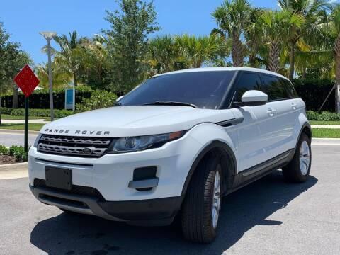 2014 Land Rover Range Rover Evoque for sale at AUTOSPORT MOTORS in Lake Park FL