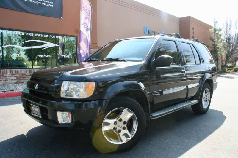 2001 Infiniti QX4 for sale at CK Motors in Murrieta CA