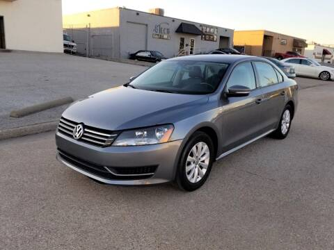 2014 Volkswagen Passat for sale at Image Auto Sales in Dallas TX