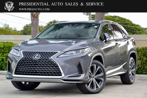 2021 Lexus RX 350 for sale at Presidential Auto  Sales & Service in Delray Beach FL