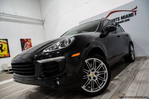 2017 Porsche Cayenne for sale at AUTO IMPORTS MIAMI in Fort Lauderdale FL