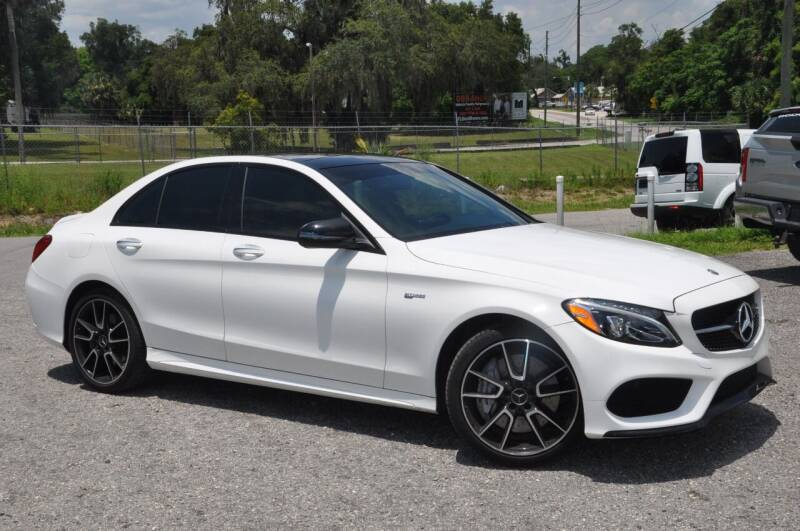 2018 Mercedes-Benz C-Class for sale at Elite Motorcar, LLC in Deland FL