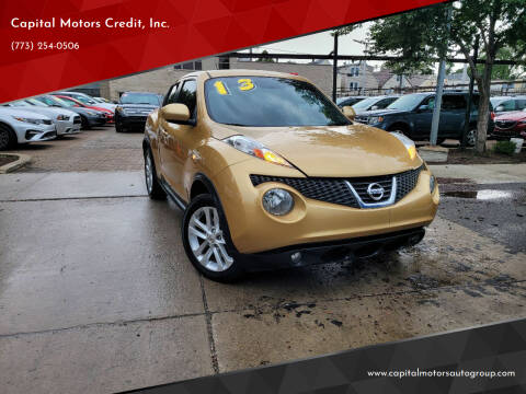 2013 Nissan JUKE for sale at Capital Motors Credit, Inc. in Chicago IL