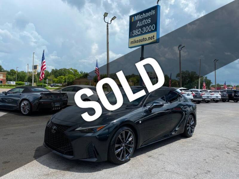 2021 Lexus IS 350 for sale at Michaels Autos in Orlando FL