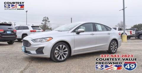 2019 Ford Fusion for sale at Courtesy Value Pre-Owned I-49 in Lafayette LA