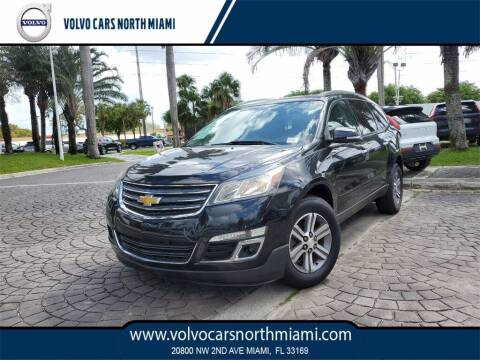 2015 Chevrolet Traverse for sale at Volvo Cars North Miami in Miami FL