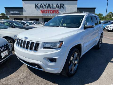 2014 Jeep Grand Cherokee for sale at KAYALAR MOTORS in Houston TX