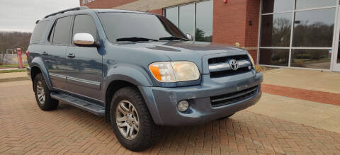 2007 Toyota Sequoia for sale at Auto Wholesalers in Saint Louis MO
