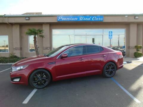 2011 Kia Optima for sale at Family Auto Sales in Victorville CA