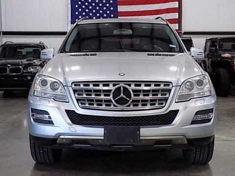 2011 Mercedes-Benz M-Class for sale at Texas Motor Sport in Houston TX