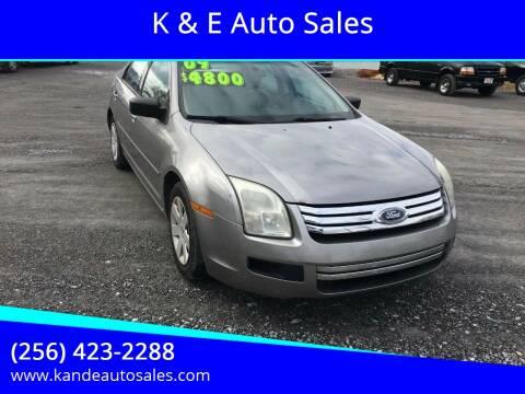 2009 Ford Fusion for sale at K & E Auto Sales in Ardmore AL