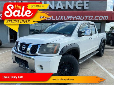 2004 Nissan Titan for sale at Texas Luxury Auto in Cedar Hill TX