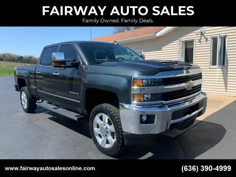 2017 Chevrolet Silverado 2500HD for sale at FAIRWAY AUTO SALES in Washington MO