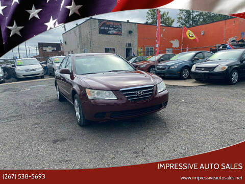 2009 Hyundai Sonata for sale at Impressive Auto Sales in Philadelphia PA
