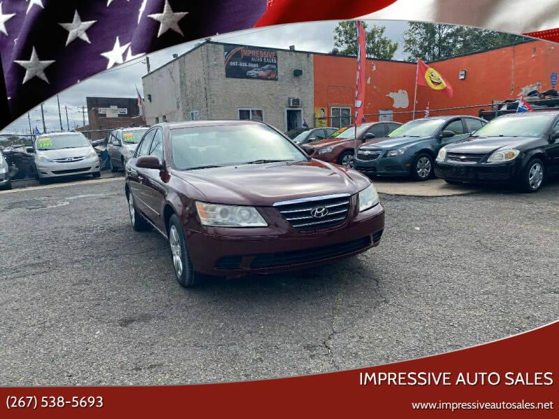 2009 Hyundai Sonata for sale at Impressive Auto Sales in Philadelphia PA