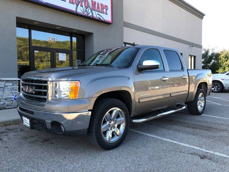 2013 GMC Sierra 1500 for sale at ALL AMERICAN AUTO MART in Edwardsville KS