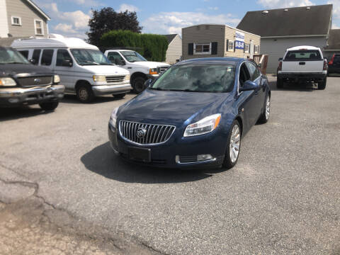 2011 Buick Regal for sale at 25TH STREET AUTO SALES in Easton PA