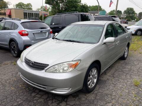 2002 Toyota Camry for sale at ENFIELD STREET AUTO SALES in Enfield CT