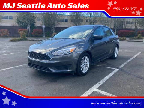2018 Ford Focus for sale at MJ Seattle Auto Sales in Kent WA